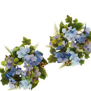 Hydrangea and Berry S/2 Rings